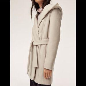 Aritzia Wilfred Brenna Wool Coat